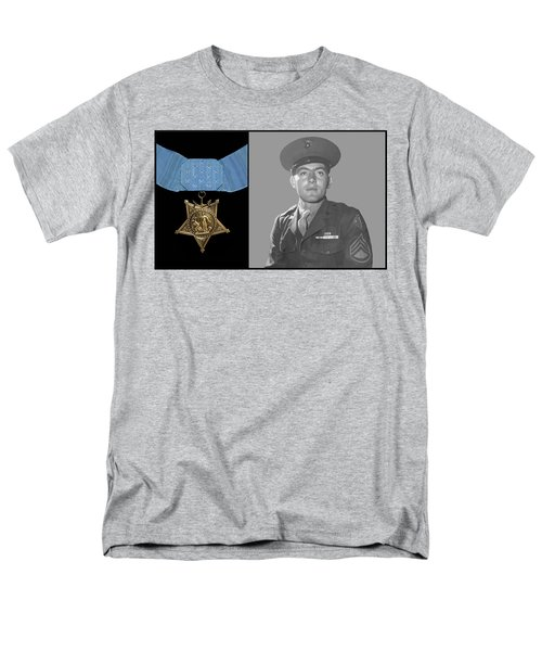 John Basilone and The Medal of Honor T-Shirt by War Is Hell Store