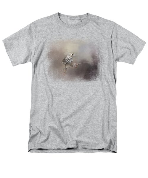 Just A Whisper Of Feathers Men's T-Shirt  (Regular Fit) by Jai Johnson