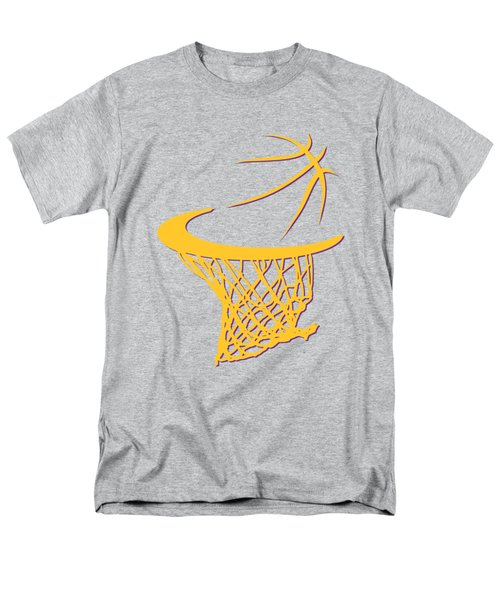 Lakers Basketball Hoop Men's T-Shirt  (Regular Fit) by Joe Hamilton