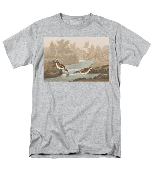 Little Sandpiper Men's T-Shirt  (Regular Fit) by John James Audubon