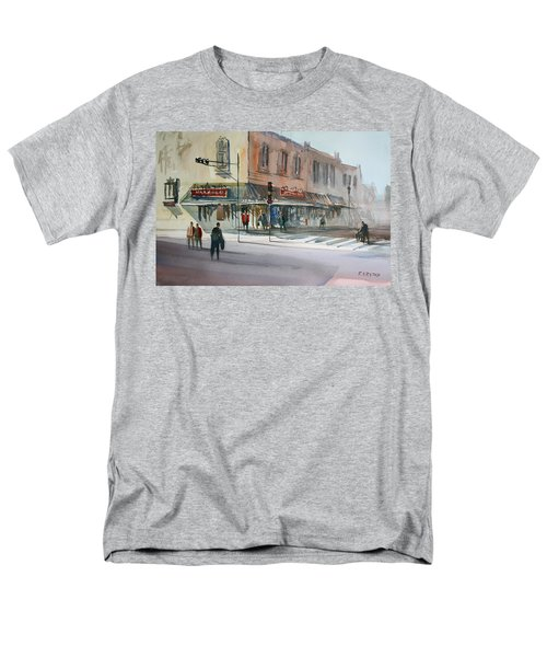 Main Street Marketplace - Waupaca T-Shirt by Ryan Radke