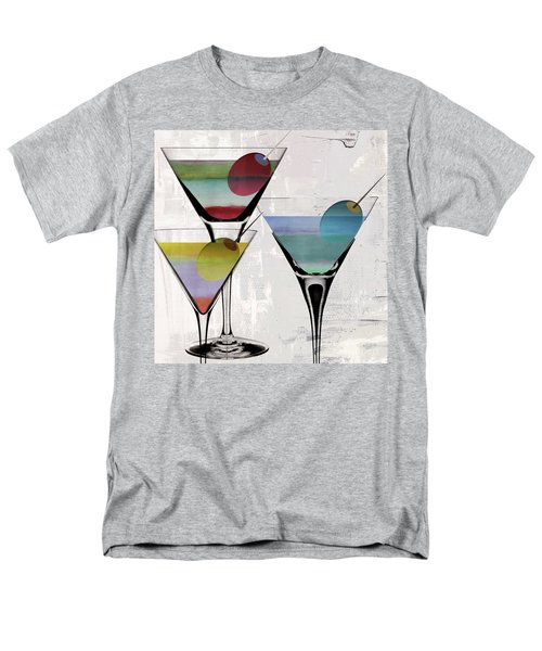 Martini Prism Men's T-Shirt  (Regular Fit) by Mindy Sommers