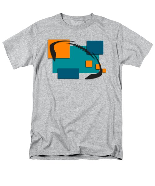 Miami Dolphins Abstract Shirt Men's T-Shirt  (Regular Fit) by Joe Hamilton