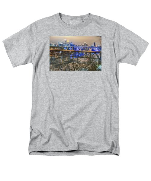 Minneapolis Bridges Men's T-Shirt  (Regular Fit) by Craig Voth