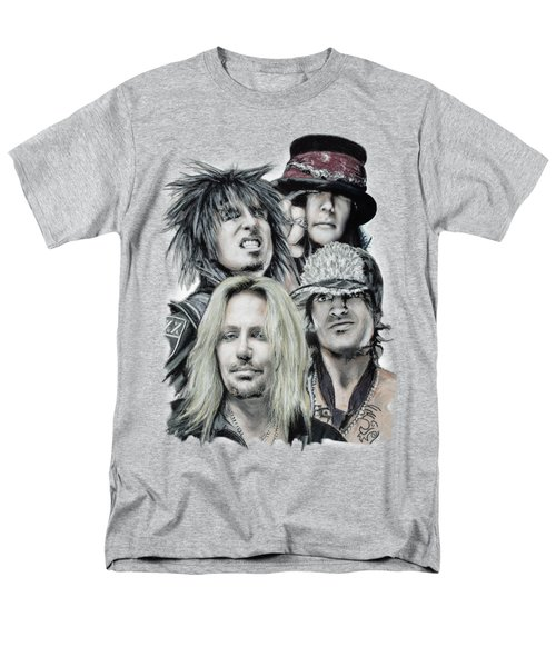 Motley Crue Men's T-Shirt  (Regular Fit) by Melanie D