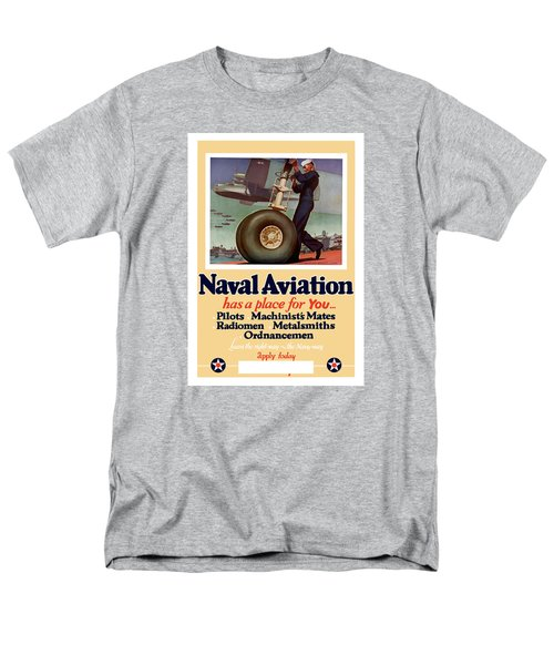 Naval Aviation Has A Place For You T-Shirt by War Is Hell Store