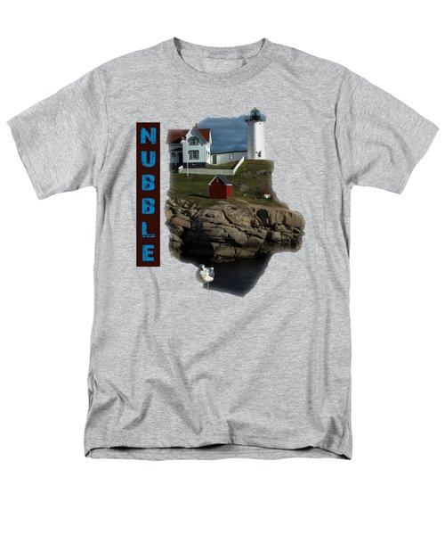 Nubble T-shirt Men's T-Shirt  (Regular Fit) by Mim White