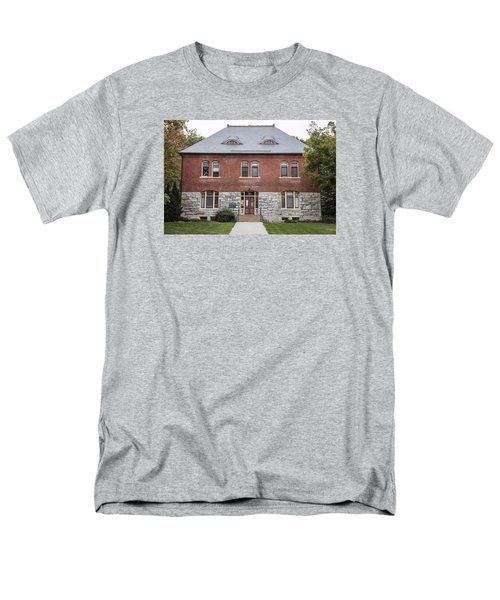 Old Botany Building Penn State  Men's T-Shirt  (Regular Fit) by John McGraw