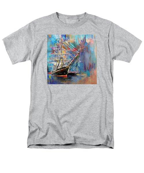 Old Ship 226 1 Men's T-Shirt  (Regular Fit) by Mawra Tahreem