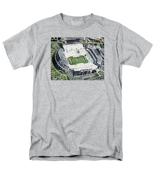 Penn State Beaver Stadium Whiteout Game University Psu Nittany Lions Joe Paterno Men's T-Shirt  (Regular Fit) by Laura Row