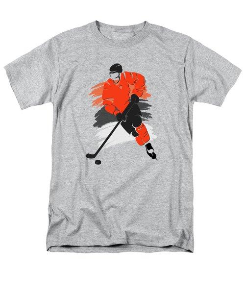Philadelphia Flyers Player Shirt Men's T-Shirt  (Regular Fit) by Joe Hamilton