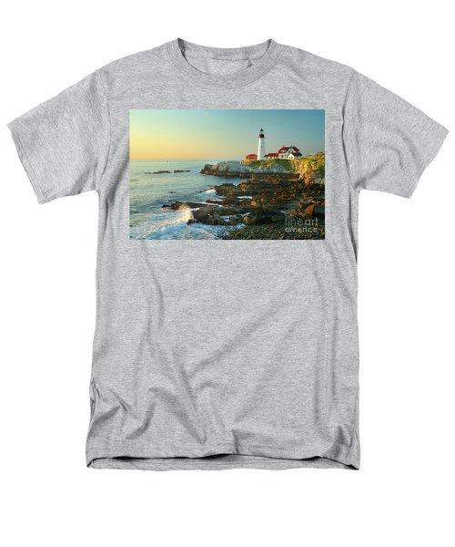 Portland Head Light No. 2  T-Shirt by Jon Holiday