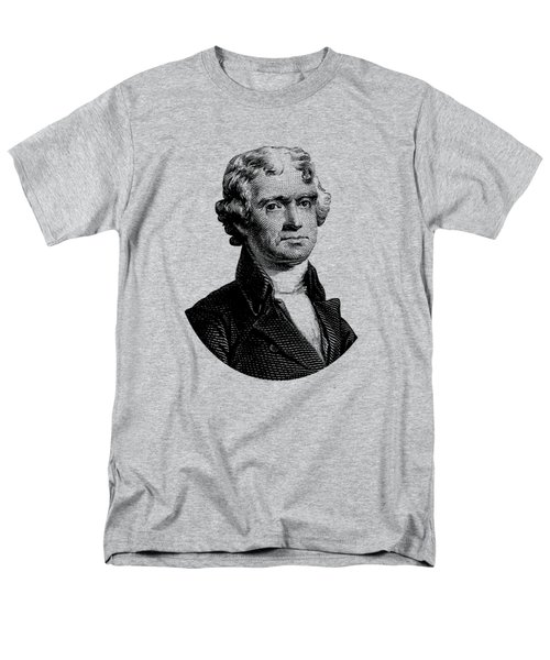 President Thomas Jefferson Graphic Men's T-Shirt  (Regular Fit) by War Is Hell Store