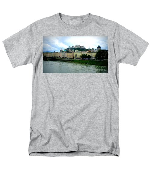 Salzburg over the Danube T-Shirt by Carol Groenen