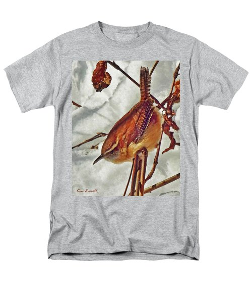 Slim Pickens, Carolina Wren Men's T-Shirt  (Regular Fit) by Ken Everett