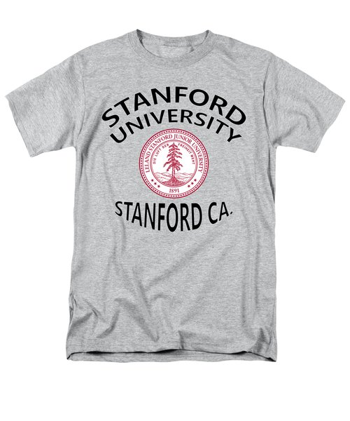 Stanford University Stanford California  Men's T-Shirt  (Regular Fit) by Movie Poster Prints