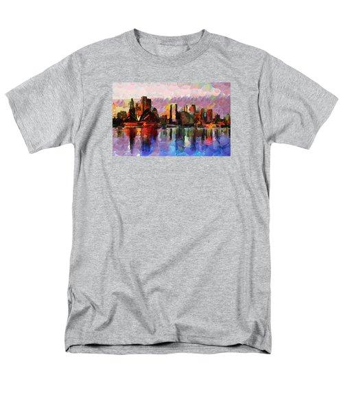 Sydney Here I Come Men's T-Shirt  (Regular Fit) by Sir Josef Social Critic - ART