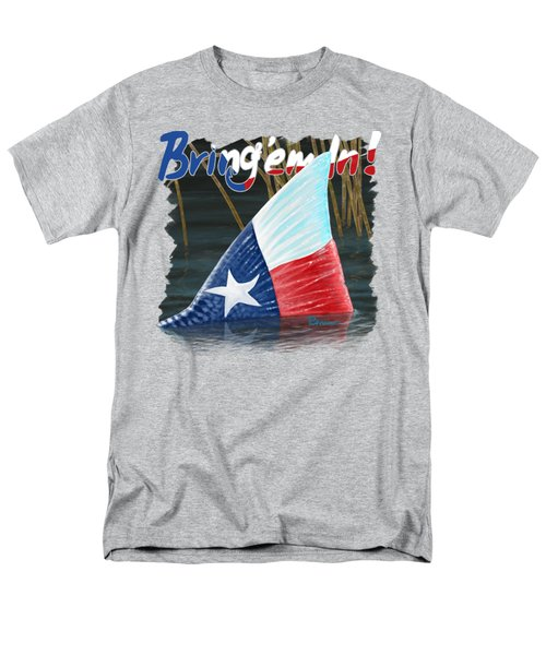 Texas Tails Men's T-Shirt  (Regular Fit) by Kevin Putman