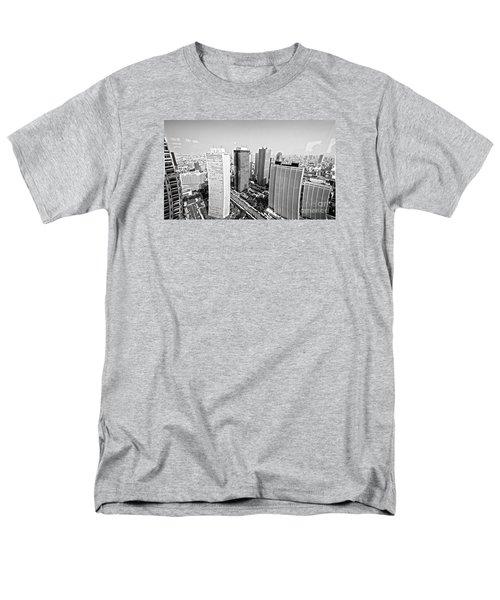 Tokyo Skyline Men's T-Shirt  (Regular Fit) by Pravine Chester