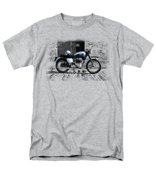 Triumph Bonneville T120 Men's T-Shirt  (Regular Fit) by Mark Rogan