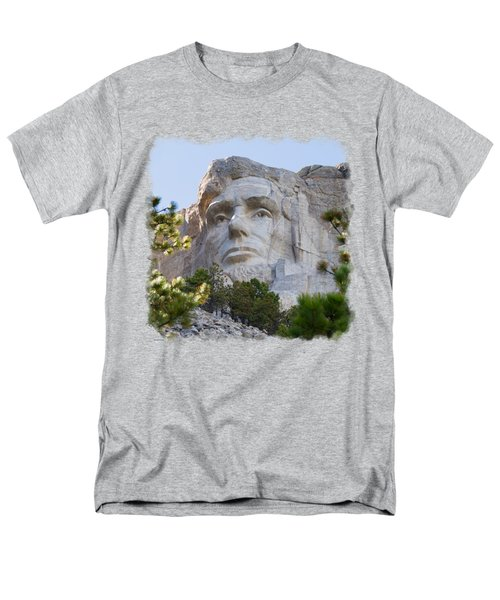Unfinished Lincoln 3 Men's T-Shirt  (Regular Fit) by John M Bailey