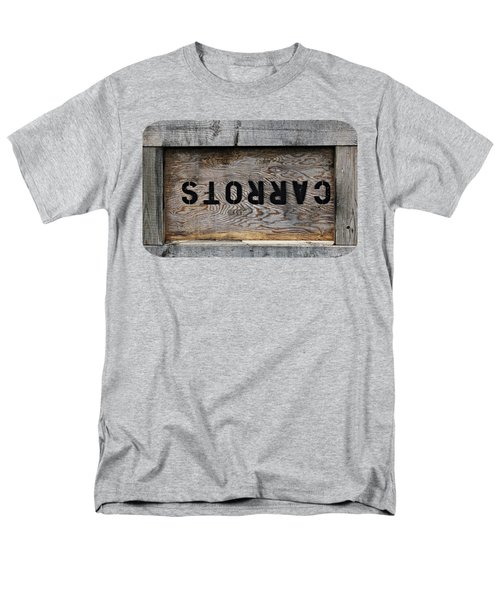 Upside Down Carrot Box Men's T-Shirt  (Regular Fit) by Ethna Gillespie