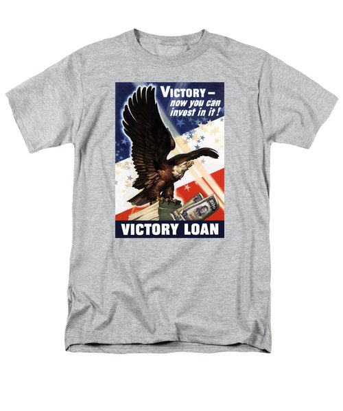 Victory Loan Bald Eagle T-Shirt by War Is Hell Store