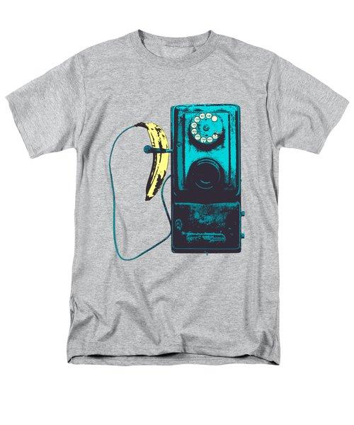 Vintage Public Telephone Men's T-Shirt  (Regular Fit) by Illustratorial Pulse