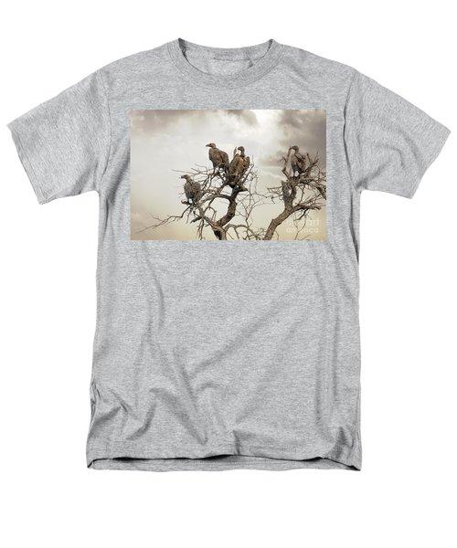 Vultures In A Dead Tree.  Men's T-Shirt  (Regular Fit) by Jane Rix