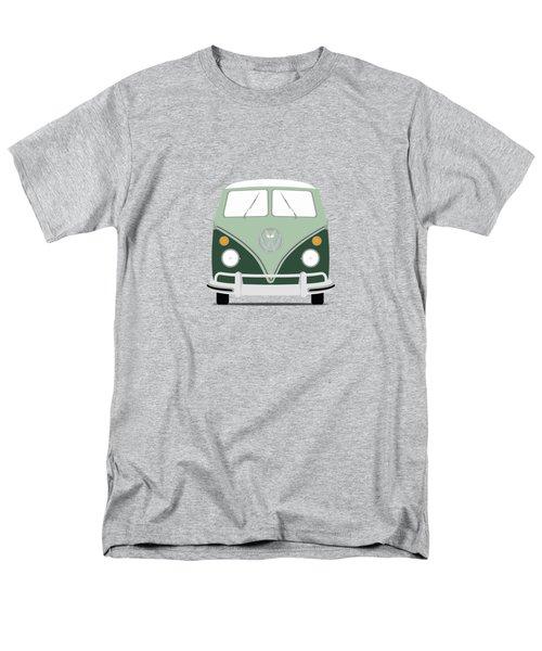 Vw Bus Green Men's T-Shirt  (Regular Fit) by Mark Rogan