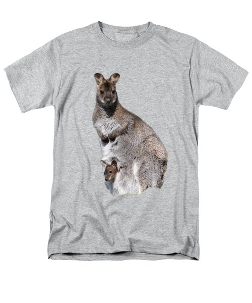 Wallaby Men's T-Shirt  (Regular Fit) by Scott Carruthers