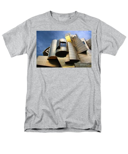 Weisman Art Museum University Of Minnesota Men's T-Shirt  (Regular Fit) by Wayne Moran