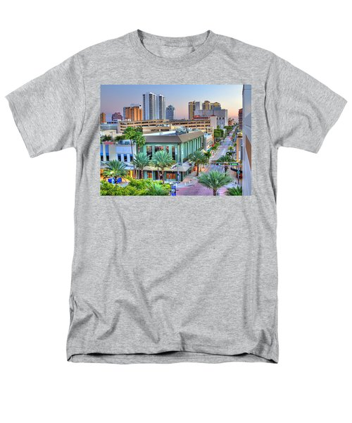 West Palm at Twilight T-Shirt by Debra and Dave Vanderlaan