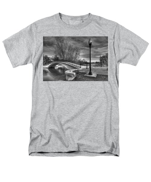 Men's T-Shirt  (Regular Fit) featuring the photograph Winter's Bridge by Rodney Campbell