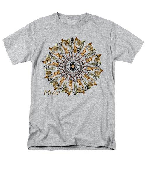 Zeerkl Of Music Men's T-Shirt  (Regular Fit) by Edelberto Cabrera