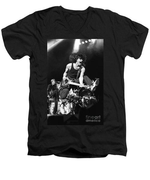 Van Halen - Eddie Van Halen Men's V-Neck T-Shirt by Concert Photos