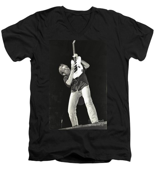 Def Leppard Men's V-Neck T-Shirt by Concert Photos