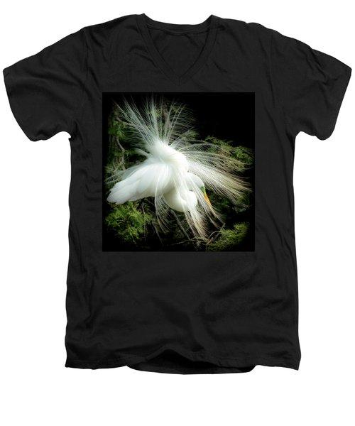 Elegance Of Creation Men's V-Neck T-Shirt by Karen Wiles