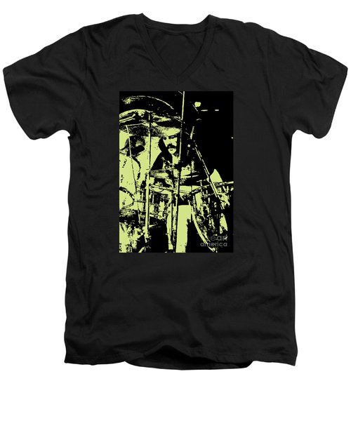 Led Zeppelin No.05 Men's V-Neck T-Shirt by Caio Caldas