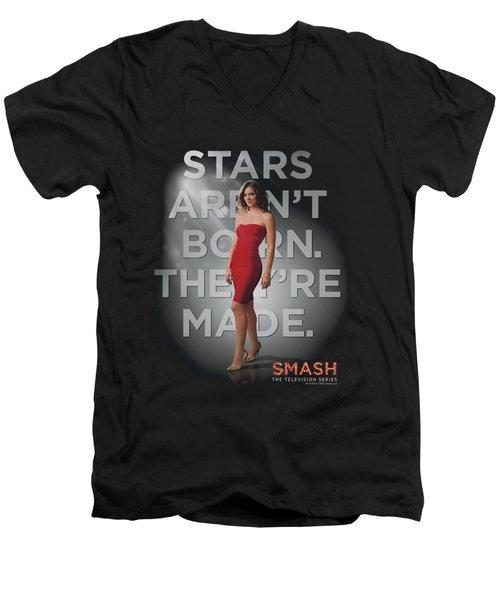 Smash - Made Men's V-Neck T-Shirt by Brand A