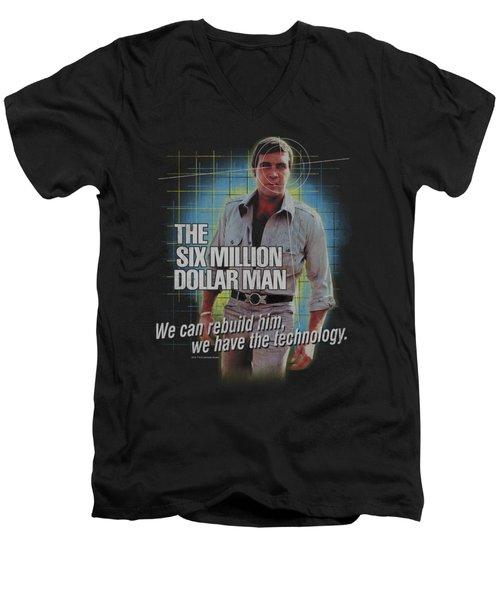 Smdm - Technology Men's V-Neck T-Shirt by Brand A