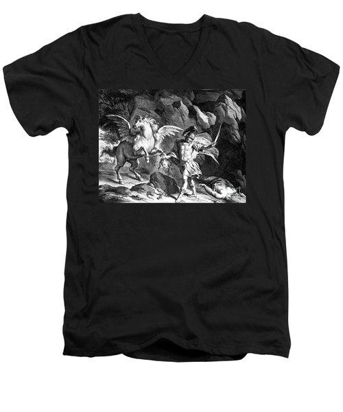 Mythology: Perseus Men's V-Neck T-Shirt by Granger