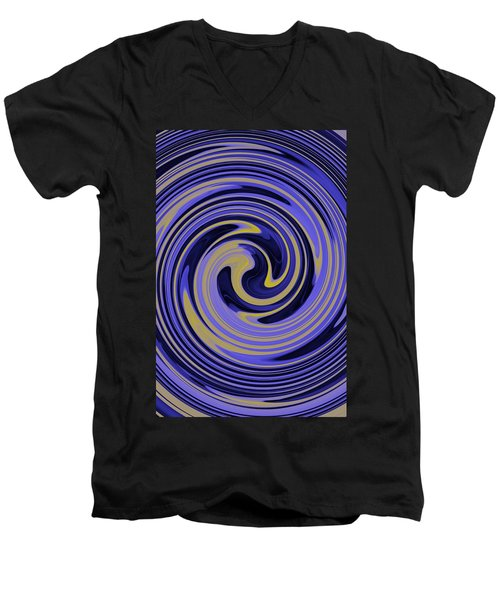 You Are Like A Hurricane Men's V-Neck T-Shirt by Bill Cannon