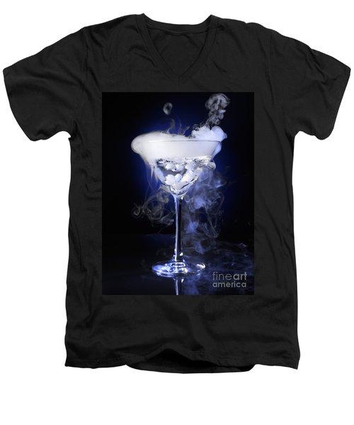 Exotic Drink Men's V-Neck T-Shirt by Oleksiy Maksymenko