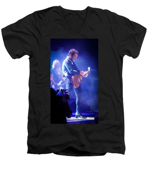Vivian Campbell Men's V-Neck T-Shirt by Luisa Gatti