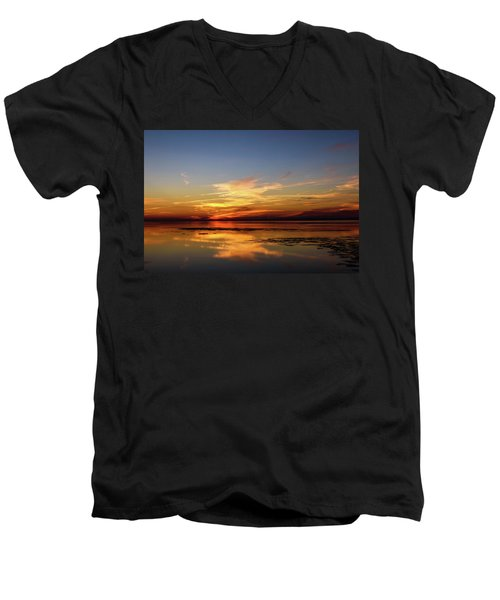 Men's V-Neck T-Shirt featuring the photograph Another Day by Thierry Bouriat