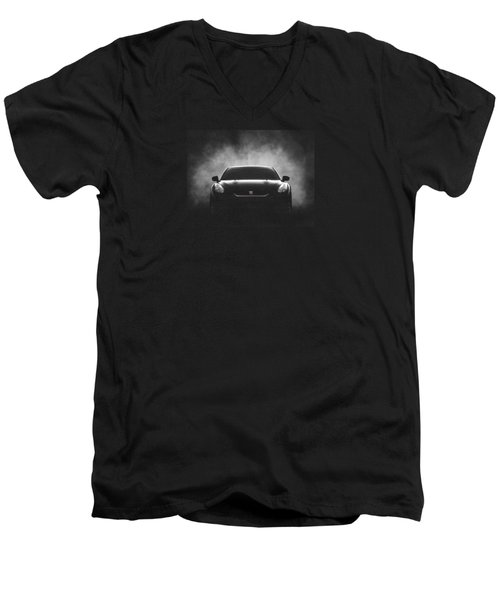 GTR Men's V-Neck T-Shirt by Douglas Pittman