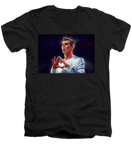 Bale Men's V-Neck T-Shirt by Semih Yurdabak