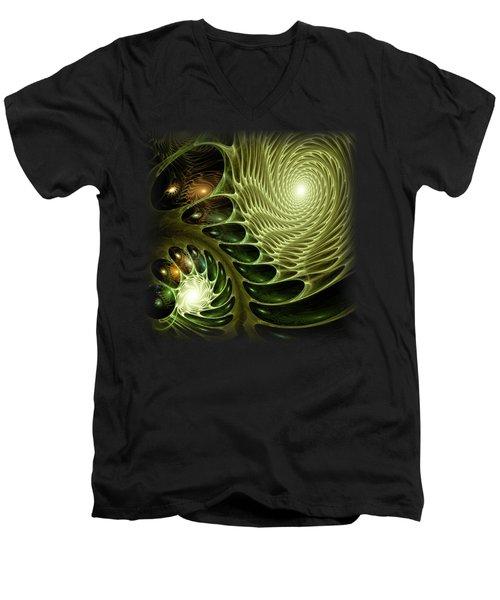 Bio Men's V-Neck T-Shirt by Anastasiya Malakhova