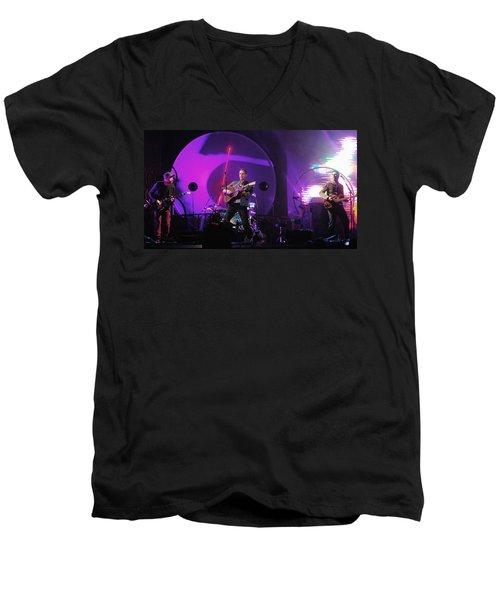 Coldplay5 Men's V-Neck T-Shirt by Rafa Rivas